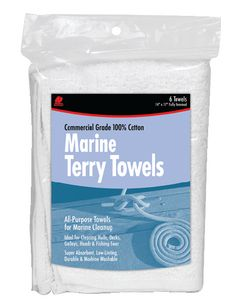 Marine Cotton Terry Towels (Buffalo Industries)