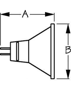 Halogen Bulb With Reflector (Sea-Dog Line)