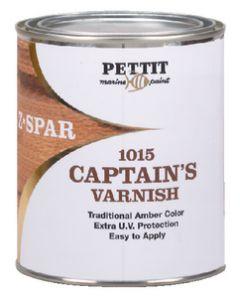 Z-Spar Captain's Wood Varnish 1015 - Pettit Paint