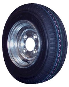 """8"""" Bias Tire And Wheel Assembly - Loadstar"""