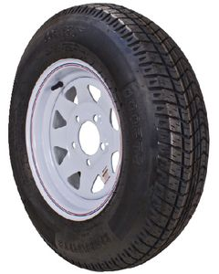 """12"""" Bias Tire And Wheel Assembly, K353, 480-12 - Loadstar"""