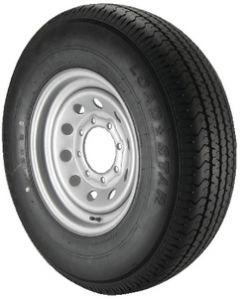 """Kenda KR03 14"""" Radial Tire & Wheel Assemblies, ST205/75R-14 - Loadstar"""