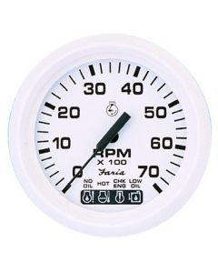 Dress White Series (Faria Instruments) - Tachometer