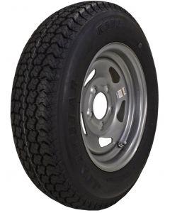 "Kenda K550 14"" Bias Tire & Wheel Assemblies, ST205/75D-14 - Loadstar"