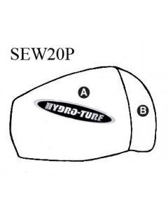 Kawasaki JS 300 / 440 / 550 Chinpad PWC Seat Cover by Hydro-Turf®
