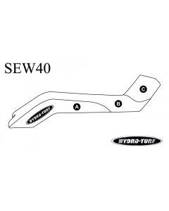 Kawasaki X2 PWC Seat Cover by Hydro-Turf®