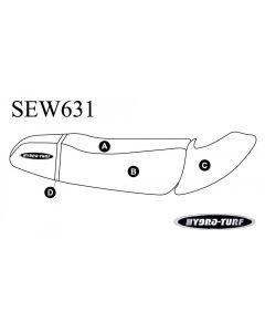 Kawasaki 1100 STX (97) / 900 STX (99-00) / 900 STS (01-02) Seat + Cowling PWC Seat Cover by Hydro-Turf®