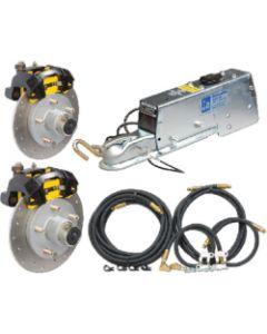"""Tie Down Engineering G5 Stainless Steel 10"""" Disc Brake Complete Kit 82404"""