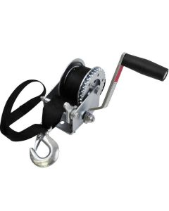 Seasense Zinc Winch, 3:1, 900lb, with Strap