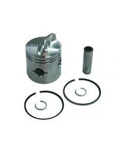 Sierra 2 Ring .015 Os Bore Inline Piston Kit Low Dome - 18-4515