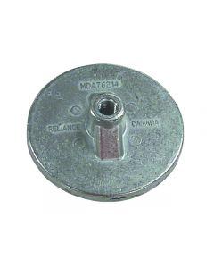 Sierra Mercury/Mercruiser Anti-Ventilation Plate Anode, Zinc