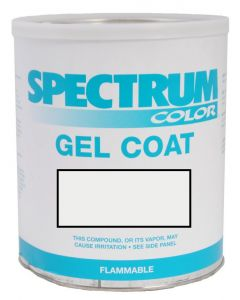Spectrum Color Beneteau, 2002-2009, Pure White LVOC Color Boat Gel Coat