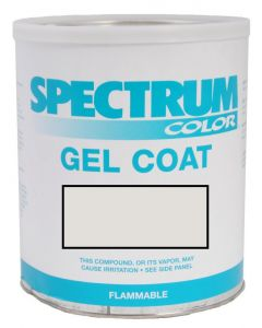 Spectrum Color Sabre, 2009-2010, Sport White VAL Color Boat Gel Coat