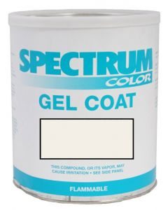Spectrum Color Sea Fox, 2004-2010, Arctic White CCP LVOC Color Boat Gel Coat