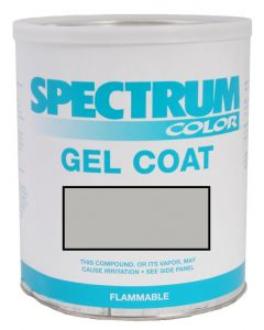 Spectrum Color Sea Fox, 2009-2010, Platinum Grey Color Boat Gel Coat