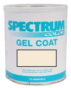 Spectrum Color Parker Boats, 2005-2009, Ext White CCP Color Boat Gel Coat