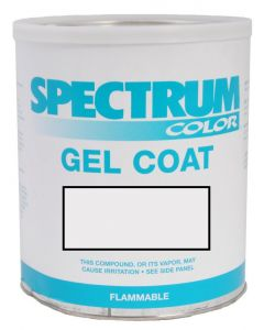 Spectrum Color Proline, 2005-2008, New Light White Color Boat Gel Coat