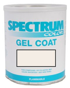 Spectrum Color Chaparral, 2000-2016, Mission White ASH LVOC Color Boat Gel Coat