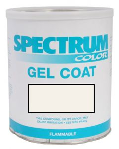 Spectrum Color Silverton, 1998-2009, White ASH Color Boat Gel Coat