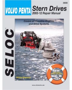 Seloc Volvo Penta Stern Drives 1992-2002 Repair Manual Powered by Ford or GM, Includes All Drives Systems