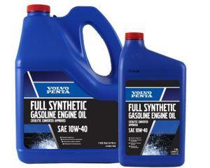 Volvo Penta Synthetic Gasoline Engine Oil, 10W-40