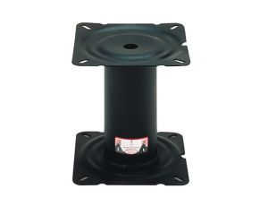 Wise  Black Coated Steel Fixed Height and Adjustable Pedestals