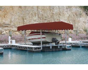 Rush-Co Marine Pier Pleasure Boat Lift Canopy Covers