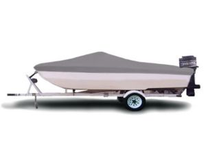 "Carver® Styled-to-Fit™ Semi-Custom Boat Cover - Fits 15' Centerline x 75"" Beam Width"
