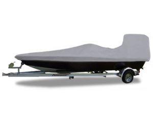 2015-2017 Boston Whaler 110 Sport W/ Bow Rail Custom Fit™ Custom Boat Cover by Carver®