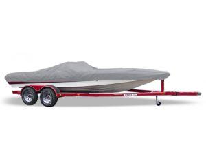 Thru-2009 Bullet 17 Vee Custom Fit™ Custom Boat Cover by Carver®