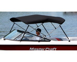 Westland® Bimini Top - 3 Bow Frame - Fits 73''-78'' Width x 54'' Height x 72'' Length