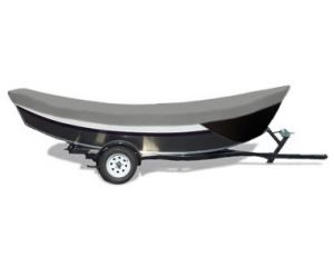 "Carver® Styled-to-Fit™ Semi-Custom Boat Cover - Fits 17' Centerline x 84"" Beam Width"