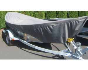 """Carver® Specialty Boat Cover For Drift Boats - Fits 17' Centerline x 84"""" Beam Width"""
