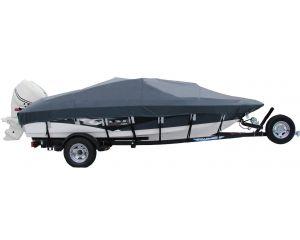 1998 Crestliner 16 Fish Hawk Tiller Custom Boat Cover by Shoretex™