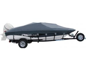 2006-2010 Crestliner 1750 Fish Hawk Tiller Custom Boat Cover by Shoretex™