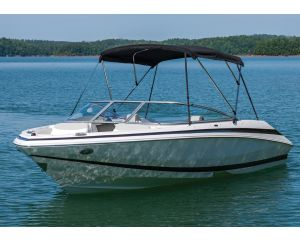 "Bimini BoaTop® by Taylor Made® (Frame Only) - Fits 6' x 54"" x 73-78"""
