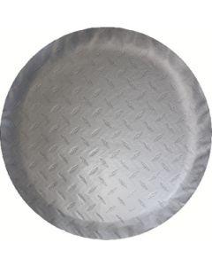 Adco Products Tire Cover L 25.5  Dia Silver