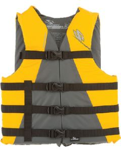 Stearns CLASSIC BOAT PFD YEL OVERSIZED
