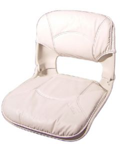 Tempress 45250 All-Weather Low Back Seat, White