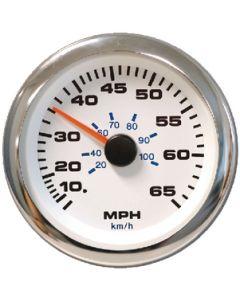 Sierra Premier Pro White Domed Gas Tachometer 7K RPM