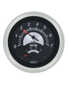 Sierra Black Sterling Gas Engine Tach/Hour Meter 7000 RPM