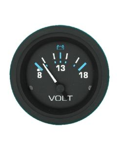 Sierra Eclipse 12V Voltmeter 8-18