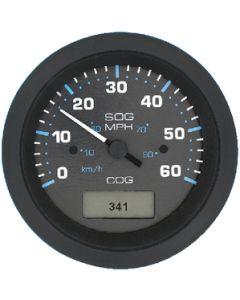 Sierra Eclipse Black Domed 80 MPH GPS Speedometer