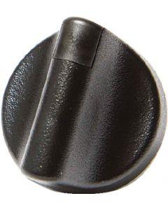 Sierra BLACK KNOB W/BLACK INDICATOR