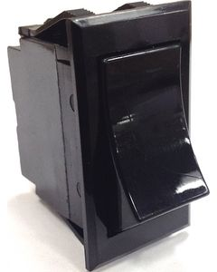 Sierra Rocker Switches with Black or White Actuators