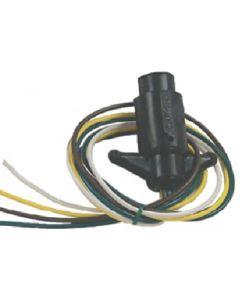 Sierra Boat Trailer Side Plug Connector 4-Pole