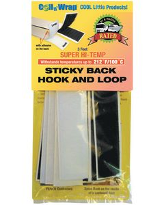 AP Products Hi Temp.Sticky Hook And Loop - High Temp Sticky Back Hook And Loop
