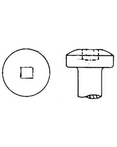 AP Products 8X5/8 Pan Scrulox 1000 Bag - Pan Head