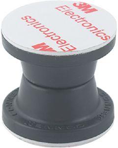 Mag Door Holdback-Blk 2Sets/Pk - Magnetic Door Holdback