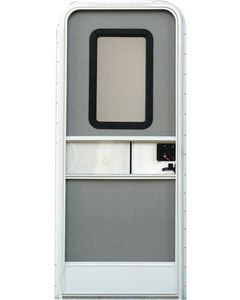 30X72 Radius Entrance Door-Rh - Rh Rv Entrance Doors